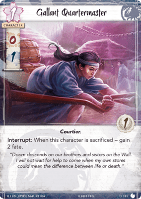 Shoju's Duty: Legend of the Five Rings LCG