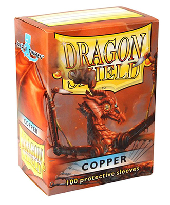 Obaly Dragon Shield standard size - Copper 100 ks
