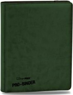 UltraPRO: A4 PRO-Binder album (Green)