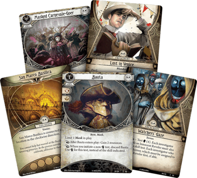 Arkham Horror LCG: Carnevale of Horrors – Scenario Pack