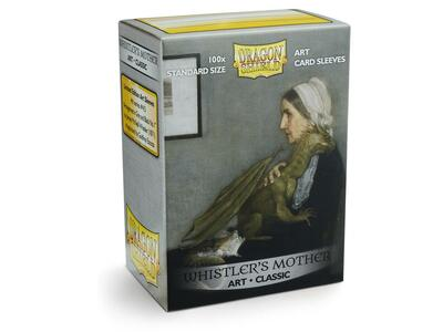 Obaly Dragon Shield Standard Art Sleeves - Whistler´s Mother (100 Sleeves)