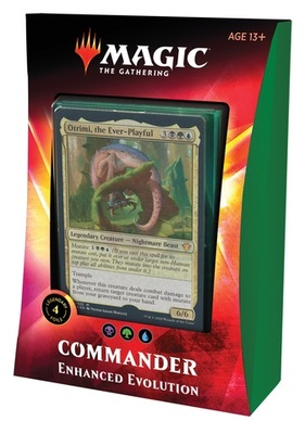 Ikoria: Lair of Behemoths Commander Deck - Enhanced Evolution - Magic: The Gathering