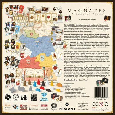 The Magnates: A Game of Power