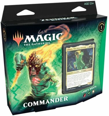 Zendikar Rising Commander Deck: Land's Wrath - Magic: The Gathering
