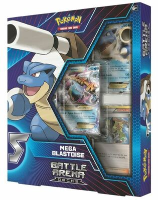 Pokémon:  Mega Blastoise  Battle Arena Decks