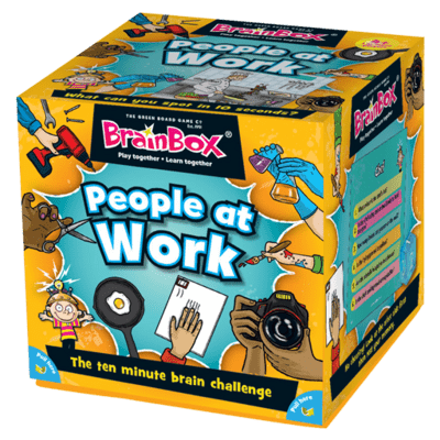 V kocke! People at Work EN (Brainbox People at Work)