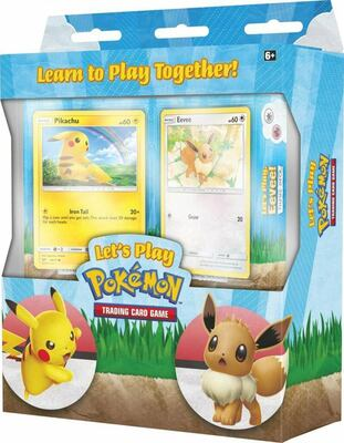 Pokémon: Lets play Pikachu & Eevee - Learn to Play Together (Trainer Kit)