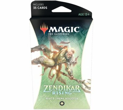 Zendikar Rising Theme Booster WHITE - Magic: The Gathering