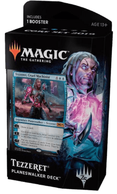 Planeswalker Deck: Tezzeret (Blue) Core Set 2019 - Magic: The Gathering