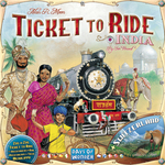 Ticket to Ride Map Collection: India & Switzerland