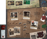 Salvation Road (Postapocalyptic Co-Op Board Game)