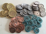 Scythe - Metal Coins Upgrade Pack