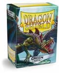 Obaly Dragon Shield Standard size - Matte Green 100 ks