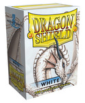 Obaly Dragon Shield standard size - White 100 ks